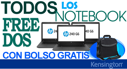 Promo Bolso Gratis Notebook FreeDos Ofilink.cl